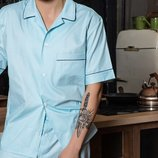 мужская пижама с шортами Лд 112