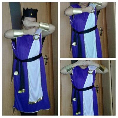 Карнавальный костюм Нептун. Император.взрослый.