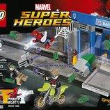 Lego Super heroes heist battle Конструктор Лего супергерои ограбление банкомата 76082