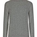 Теплый джемпер кофта свитер Marks & Spencer 100% овечья шерсть