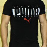 Футболка мужская Puma черная.