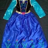 Карнавальное платье Анны из холодного сердца на 9-10лет.