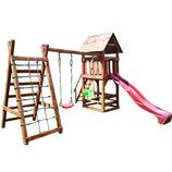 Детский комплекс Большая игра деревянный
