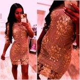 Шикарное платье М размер