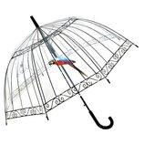 Зонт прозрачный,купольный зонт-трость