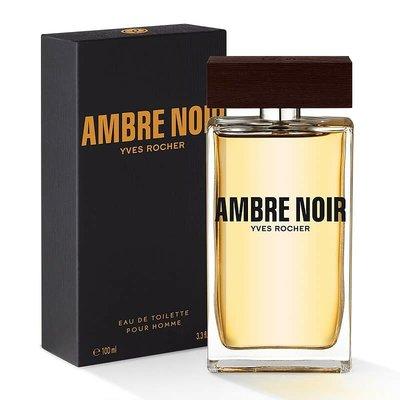 Оригинал Туалетная вода Ambre Noir 100мл Черная амбра Ив Роше Yves Rocher парфюмерия