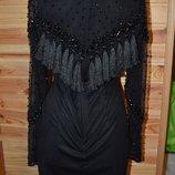 Поделиться Платье от asos бусины сеточка