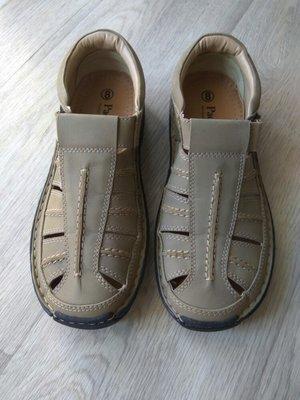 Полностью кожаные сандалии Padders Англия, 1раз одеты