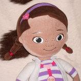 Скидка мягкая кукла Дисней доктор Плюшева Doc McStuffins Disney Nicotoy Бельгия оригинал 34 см