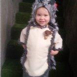 костюм ежика на новый год, утренник детские карнавальные костюмы. прокат пошив