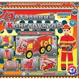 Конструктор металлический Пожарная техника Технок , арт. 2056