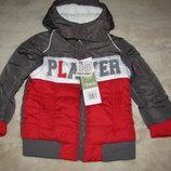 Куртка брендова демі стильна нова Tom et Kiddy Оригінал Німеччина ріст 81 на вік 1,5 року