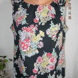 Новая тонкая блуза с принтом