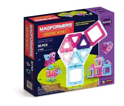 Magformers Inspire Set Магнитный конструктор Магформерс 30 деталей