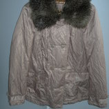 Куртка, мех, Marks Spencer, р М, 46-48