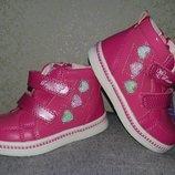 Демисезонные ботинки для детей Том. М 22-26р в наличии