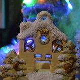 Новый сказочно-волшебный Новогодний Декор-Домик-Подсвечник Польша