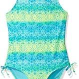 яркий слитный купальник Angel Beach на девочку 6-7 лет