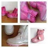 Акция ботинки сапожки 3 цвета