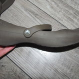 Балетки фирмы Crocs W9, 39, стелька 25,5 см