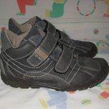 Ботинки Geox 35-36 размер по стельке 22,5 см. Кожаные, В идеальном состоянии. Легенькие , дышащие, м