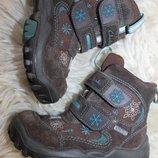 6 разм. стелька 16 см. Зима ботинки Clarks Gore - tex. Замша