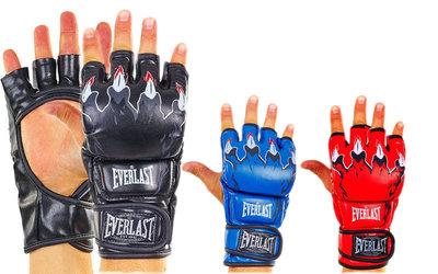 Перчатки для смешанных единоборств Elast 3207, 3 цвета размер S-XL, PU