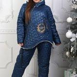Лыжный костюм на овчине полностью, р. 42-44, 46-48, 50-52, 54-56 цвета