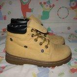 Ботинки Safiya Германия 34 размер по стельке 22 см. Кожаные,. В идеально состоянии. Легенькие , дыша