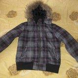 Куртка парка термо Crashone Германия на возраст 14-16 лет. Зимняя. В отличном состоянии.Куртка на пл