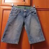 Джинсовые шорты на 7-9 лет