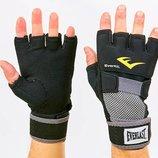 Перчатки с бинтом внутренние гелевые из неопрена Everlast 4355 размер M-XL