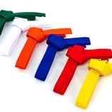 Пояс для кимоно Champion 4072, 6 цветов длина 260-300см хлопок полиэстер