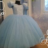 Нарядное детское платье праздничное выпускное пышное вечернее в пол