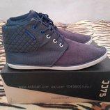 Кеды кроссовки ботинки хайтопы Jack&Jones Сша 41 размер по стельке 26 см. В идеальном состоянии.Крас