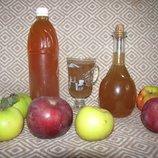 Яблочный уксус органический 1л