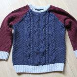 Стильный теплый свитер George на 6-8 лет