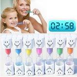 Песочные часы смайл таймер для контроля времени чистки зубов