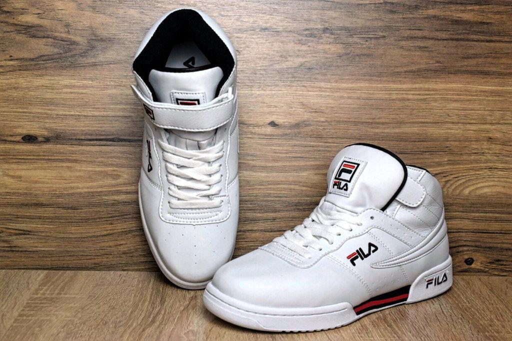 972aedfa Кроссовки мужские Fila Original Fitnes Premium white высокие: 1250 грн - мужские  кроссовки fila в Хмельницком, объявление №16034137 Клубок (ранее Клумба)