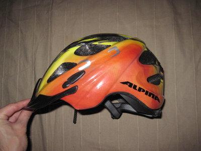 Alpina Rocky 52-57 см велошлем детский