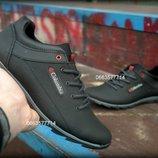 Мужские кожаные туфли кроссовки columbia весна осень демисезон все размеры
