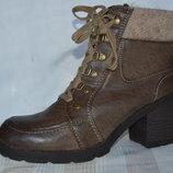 Ботинки сапожки зима від zalando размер 42 43