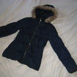 Куртка парка H&M Швеция на рост 158-164 см. 13-14 лет.Зимняя. .Куртка на теплом утеплителе . Капюшон