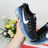 Кроссовки Nike Air Max 2017 black/blue 36-40р