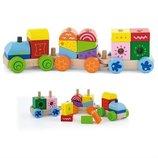 Конструктор Поезд , Viga Toys 50534