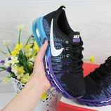Кроссовки женские Nike Air Max 2017 black/purple
