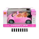 Машина кабриолет с куклой WD580B,звук,свет