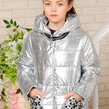 Куртка «Миранда», серебро