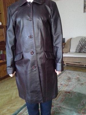 cec253bff23 Женское демисезонное кожаное пальто  350 грн - демисезонная верхняя ...