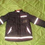 Куртка термо Pepperts Германия на 134-140 рост. 9-10 лет. Куртка на утеплителе подкладка флис. Абс